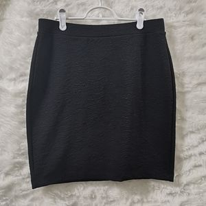 NWT LOFT Textured Skirt M